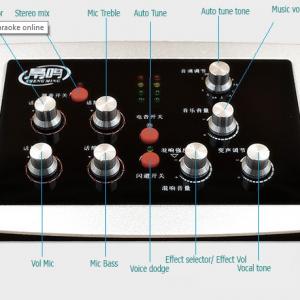 Sound card HF5000 Pro hỗ trợ Auto tune