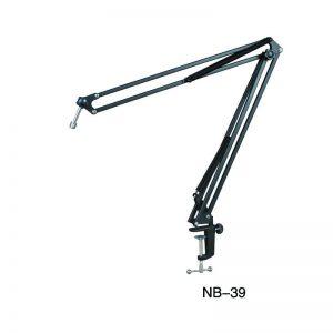 Kẹp bàn micro lớn NB-39 đã kèm dây cáp XLR-XLR