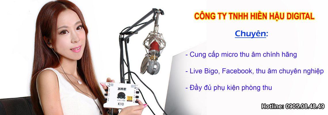 Micro thu âm giá rẻ