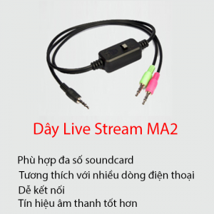 Dây(cục) live Stream XOX MA2