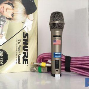 Micro có dây Shure SM-78a