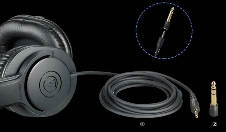 Audio technica ATH M20X-2