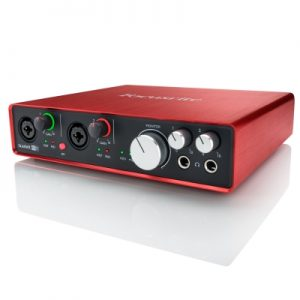 Sound card Focusrite Scarlett 6i6 (gen 2nd) 6in/6out
