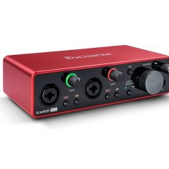 Sound card Focusrite Scarlett 2i2 thế hệ 3