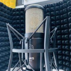 Micro thu âm AKG P420 chính hãng