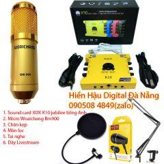 Combo K10 2020, micro Bm900 và phụ kiện