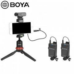 Micro không dây BOYA BY–WM4 PRO K2 (2 micro)