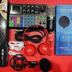 Combo micro bm900 và sound card K300