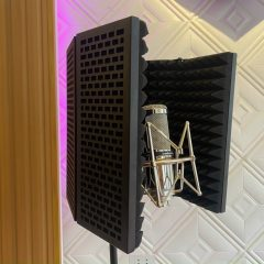 Màn chắn tiêu âm, vocal booth – Cty Hiền Hậu Digital