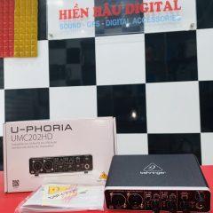Sound card Behringer UMC 202HD chính hãng